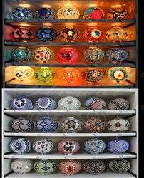 7 sztuk multicolor mozaika kule na specjalne zamówienie|Żyrandole|   -