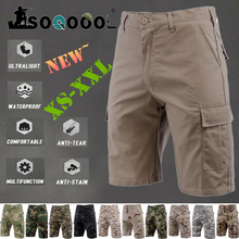Waterproof Tactical Cargo Shorts Mens Outdoor Fashion Casual Hiking Camo Sweatpants Military Army Combat Multi pocket Track Pant