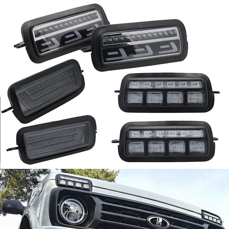 For Lada Niva 4X4 URBAN led front car accessories sidelights for 1995 Lada 4X4 URBAN Niva image