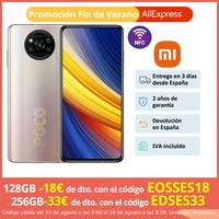 POCO X3 Pro (128GB 6GB/256GB 8GB RAM Qualcomm Snapdragon 860G Android Nuevo Smartphone Version Global