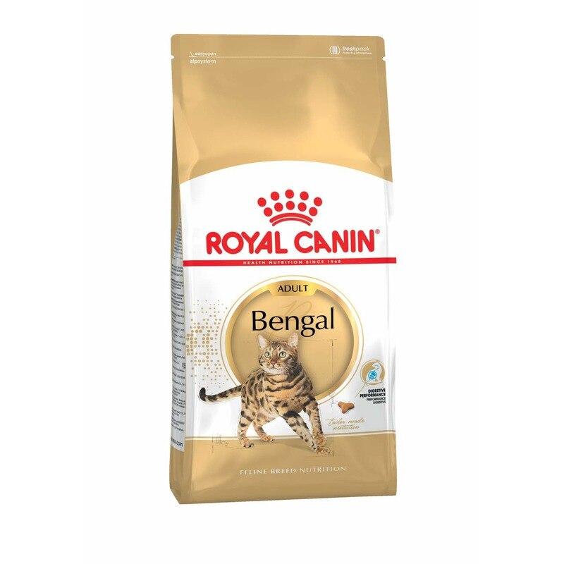 Royal Canin Bengal Adult для взрослых кошек бенгальской породы, Cat Food, For Cats, 2 кг