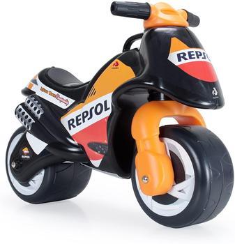 INJUSA-Motorcycle toy Child Repsol Honda, Ride with OJ wheels for Children + 18 months black and Orange, Plastic недорого