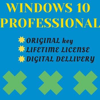 Windows 10 PRO key code license activation online Microsoft product key WIN 10 PRO activ on phone key work on all world original недорого