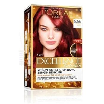 Loreal Excellence İntense farba do włosów 6 66 intensywna czerwień 248531199 tanie i dobre opinie