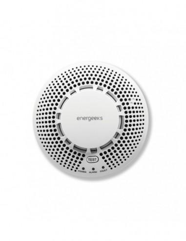 Smoke Sensor For Alarm Wifi/gsm Energeeks EG-AWG001SH