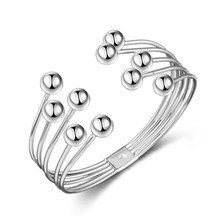 Посеребренный браслет с деформационной сеткой, жемчужный медный браслет, европейский и американский браслет, Высококачественный Браслет
