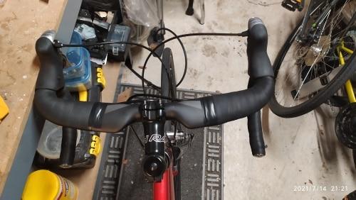 Full Carbon Bicycle Handlebar photo review