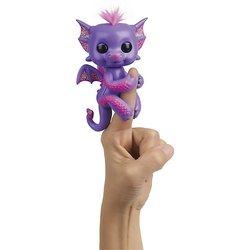 Интерактивный дракон WowWee Fingerlings Калин, 12 см