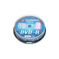 DVD R Verbatim 43523 16x10 stücke Rohling    -