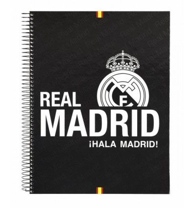 NOTEPAD A4 MICRO120 H REAL MADRID