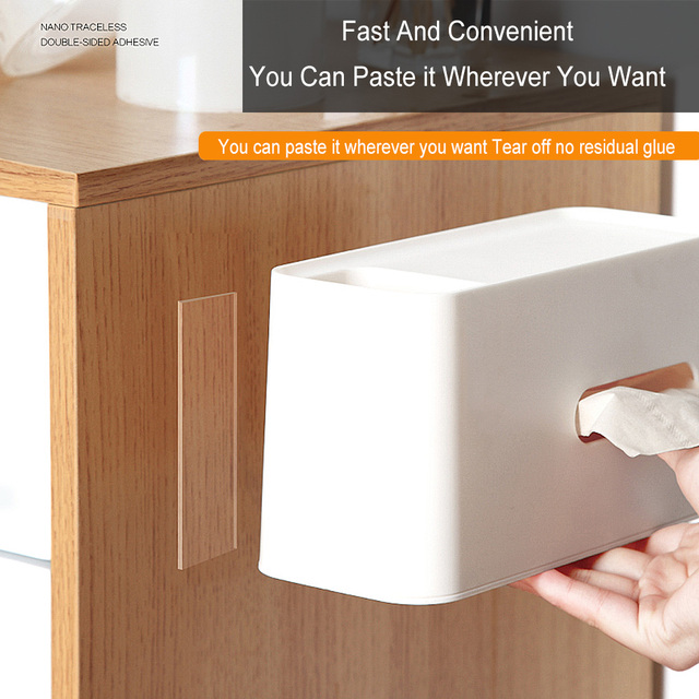 Nano Magic Double Tape Transparent Sided Tape NoTrace Reusable Waterproof Adhesive Strong Wall stickers For Bathroom kitchen 3