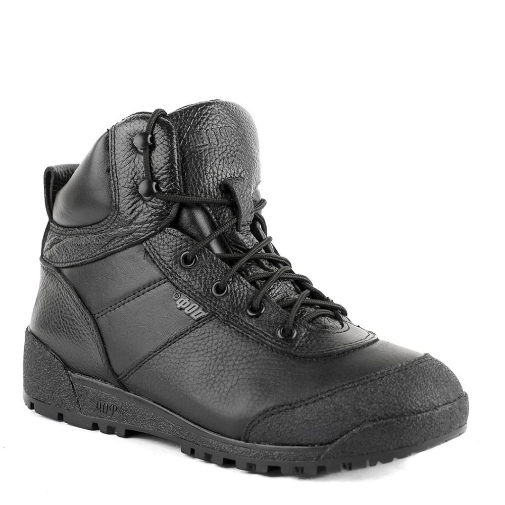 Demiseason High Quality Genuine Leather Ankle Boots Army And Hiking Shoes Rubber Outsole Made In Russia 0060/1 WA