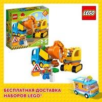 Designer Lego Duplo 10812 lkw & crawler bagger