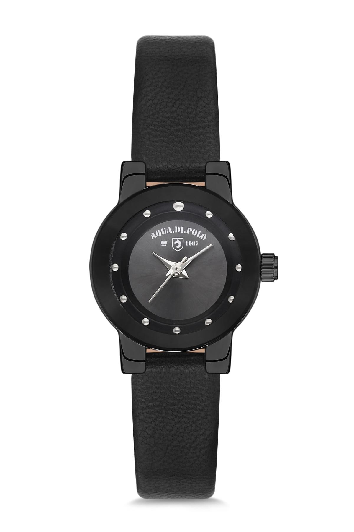 Aqua Di Polo APSV1-A9416-ED333 Leather Women Wrist Watch