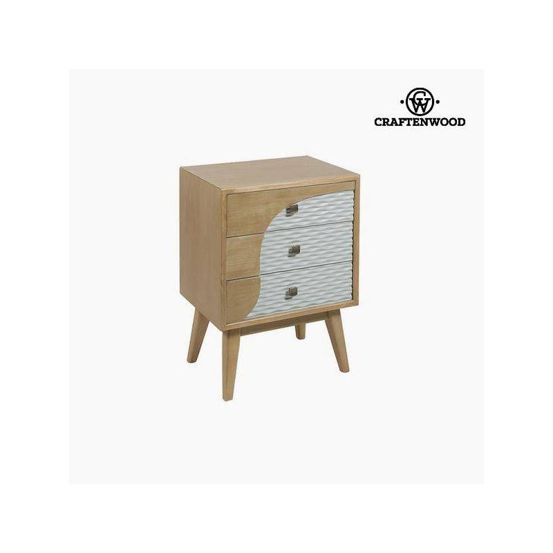 Bedside Table Mdf (67x48x35 Cm) Per Craftenwood