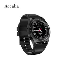 Accalia L9 new smart watch sim card bluetooth dialer call cameral Message push Audio and Video Player Calendar band