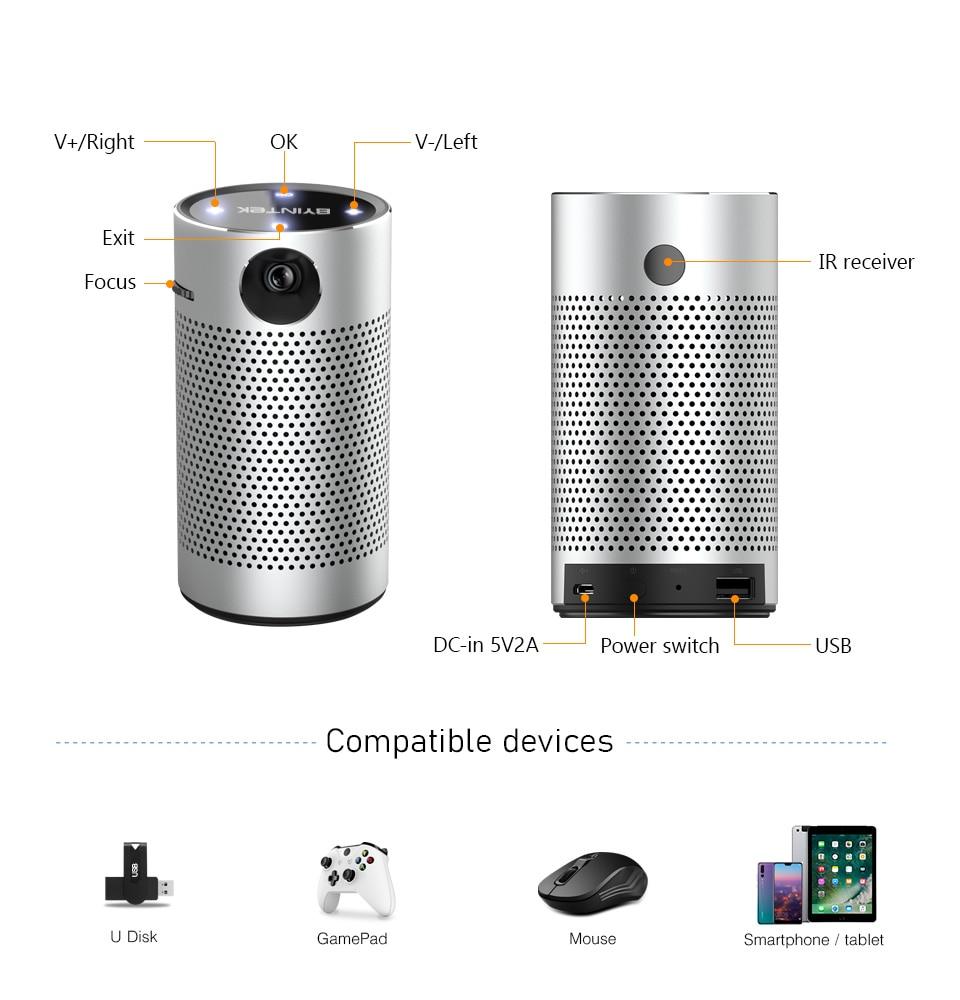 U40a354053c1748e88c69e225ae57bac60 - モバイルプロジェクター android ポケット ポータブル Wifi 1080P 4K TV ミニLEDホームシアター 電話 DLP S204001170613738