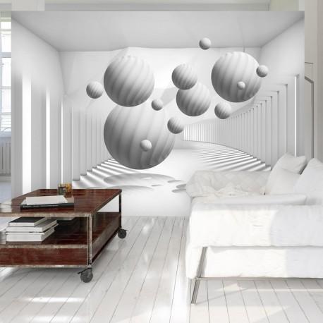 Photo Wallpaper-Balls In White