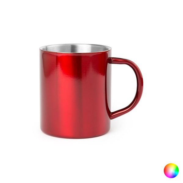 Stainless Steel Mug (280 Ml) Bicoloured 144656
