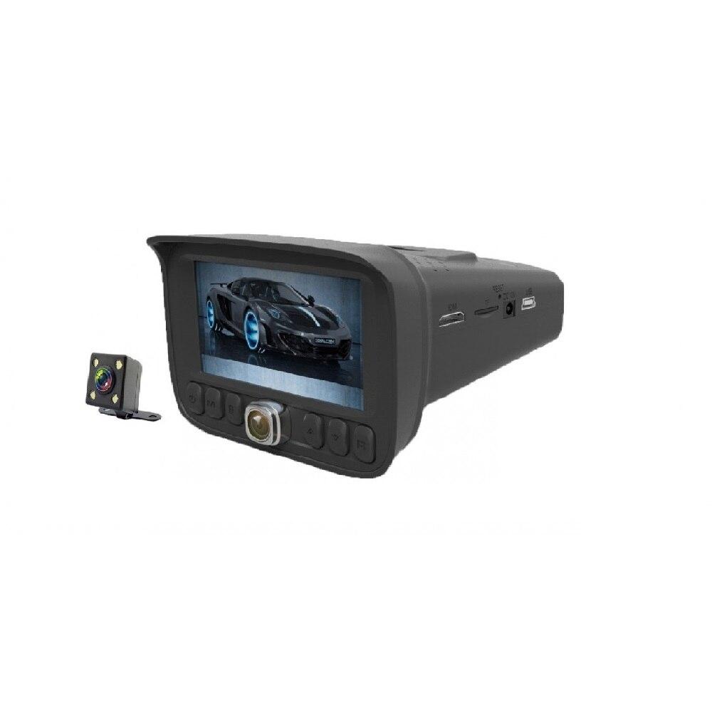 Видеорегистратор с радар-детектором (3 камеры) STONELOCK SP-500