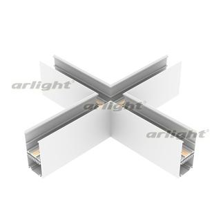 026914 Connector Cross MAG-CON-4592-X90 (WH) [Metal] Box 1 Pcs ARLIGHT Led Lamp/Magnetic System.