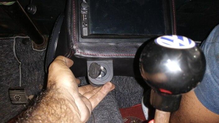 1/2/3 agujeros toma USB del COCHE Tienda Base USB/voltímetro/alimentador para encendedor de cigarrillos Socket cubierta Base par