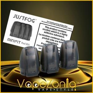 POD rechargeable MINIFIT Justfog 3 pcs