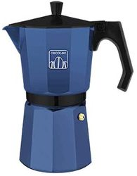 Cecotec Italian coffee maker Mimoka Blue made of high quality cast aluminum to make coffee with the best body.