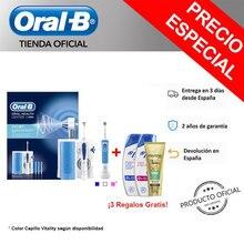 Oral-B MD20 Oxyjet Irrigador Bucal Cepillo dientes Vitality 100 Limpieza dental Irrigador dental MD20 Irrigador Bucal Portátil