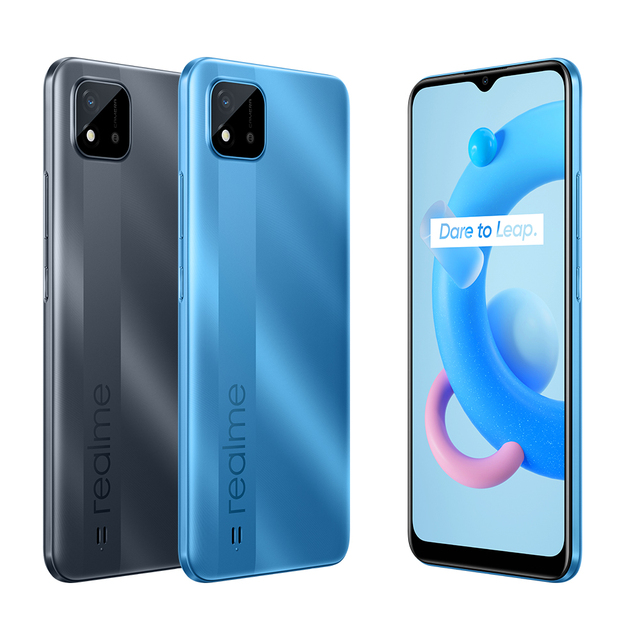 """realme C11 2021 2GB RAM 32GB ROM Global Version 5000mAh Battery 6.5"""" Large Display Support Multi Language Play Store NFC 2"""