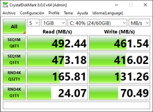 Good product in relation quality / price. SSD S370 128GB installed in a Toshiba L855 with