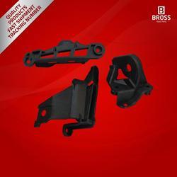 Bross BHL512 Headlight Headlamp Housing 6212E3 Repair Kit Left Side for 308 MK1 Base HB, 308 MK1 CC Convertible, 408 2010-2014