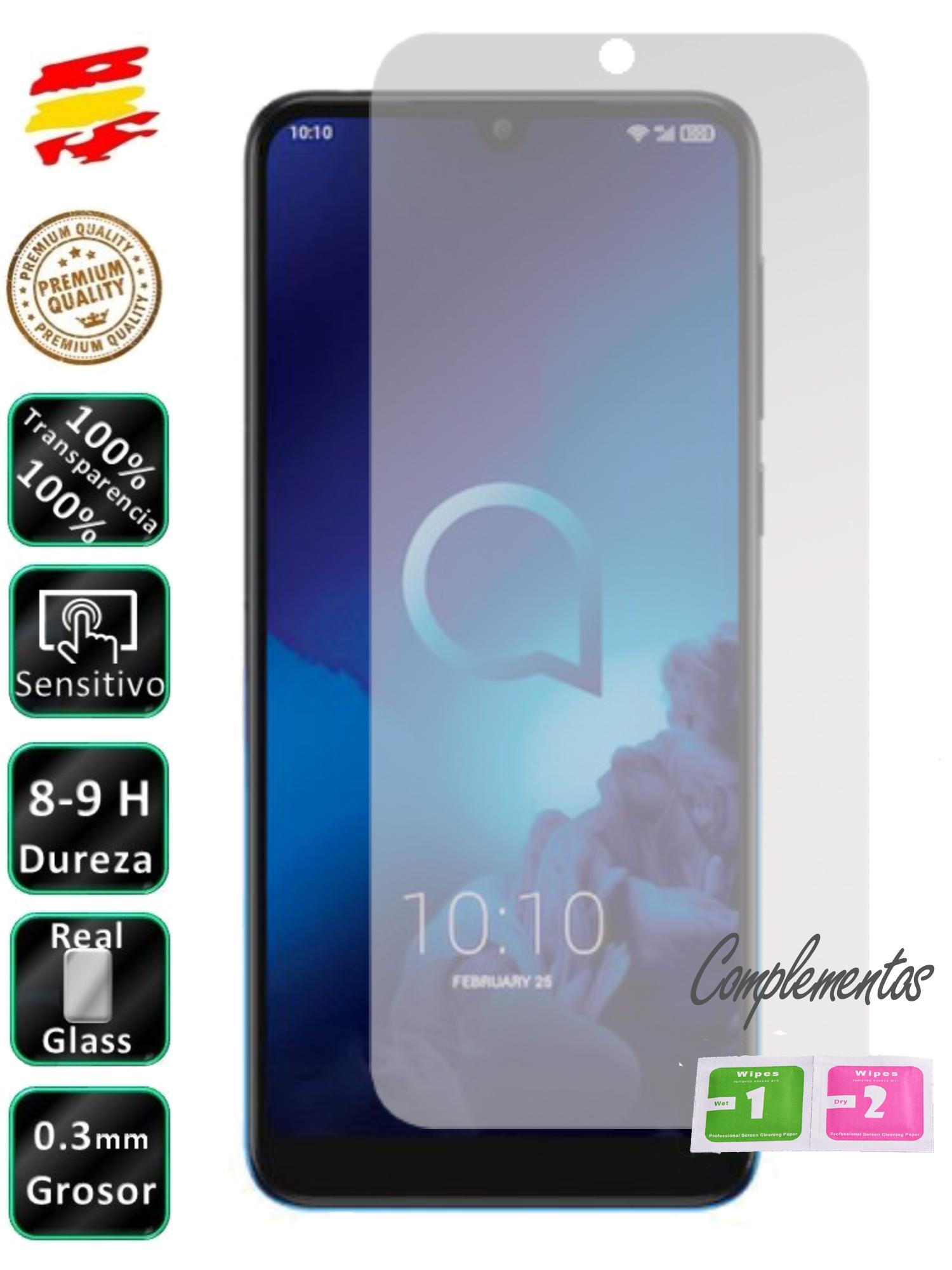 Protector For Alcatel 3 2019 Tempered Glass Screen Glass 9H For Mobile