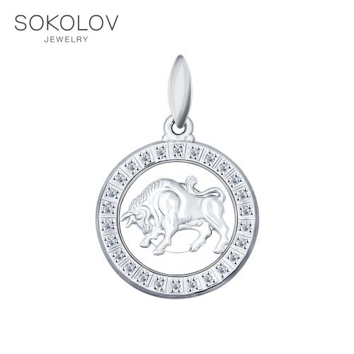 Pendant The Zodiac Sign Taurus