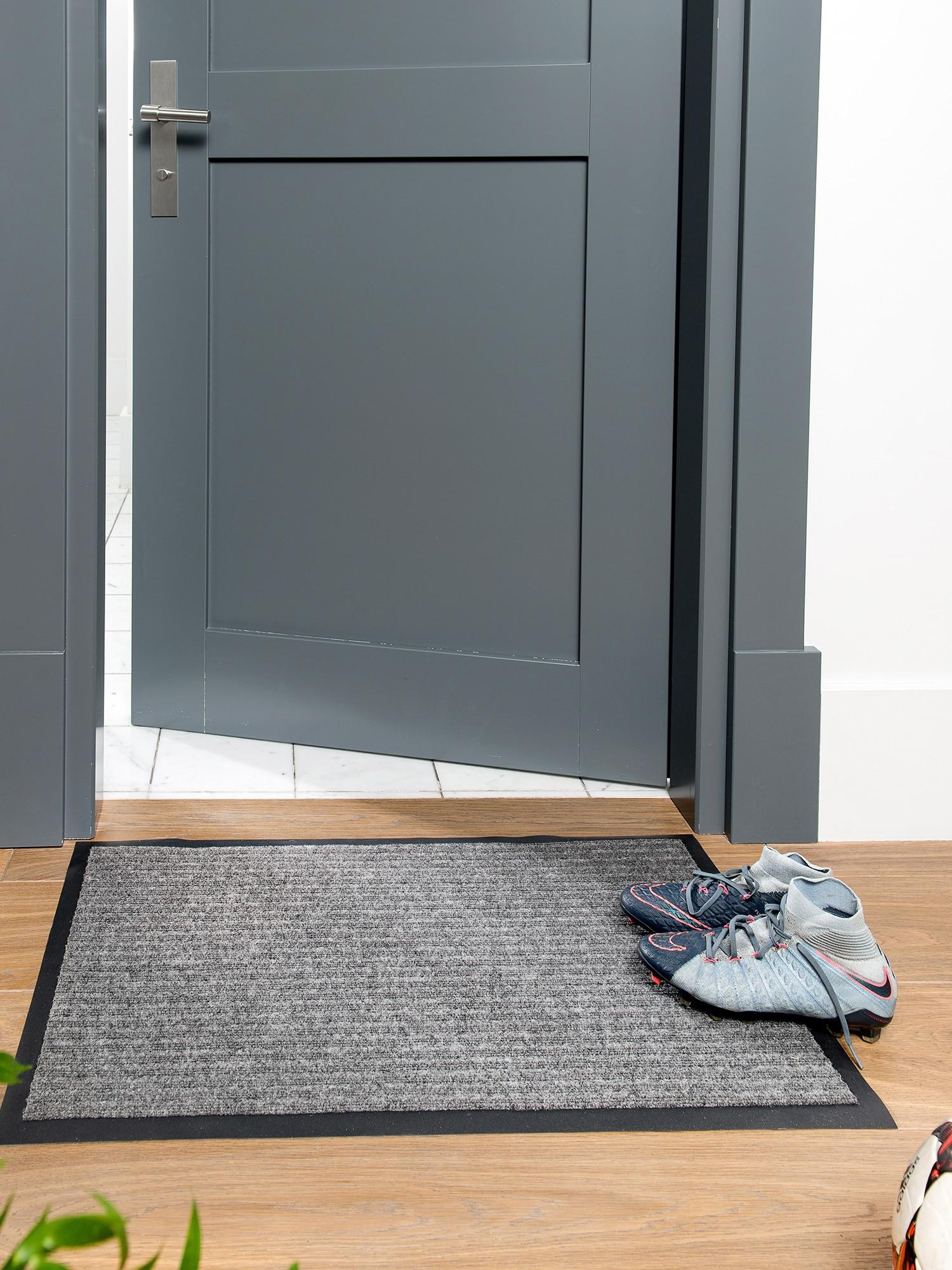 Коврик Велий Техно придверный иглопробивной грязезащитный для квартир и офисов серый 80х120|Ковер| | АлиЭкспресс