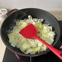 白菜五花肉炖粉条的做法图解4