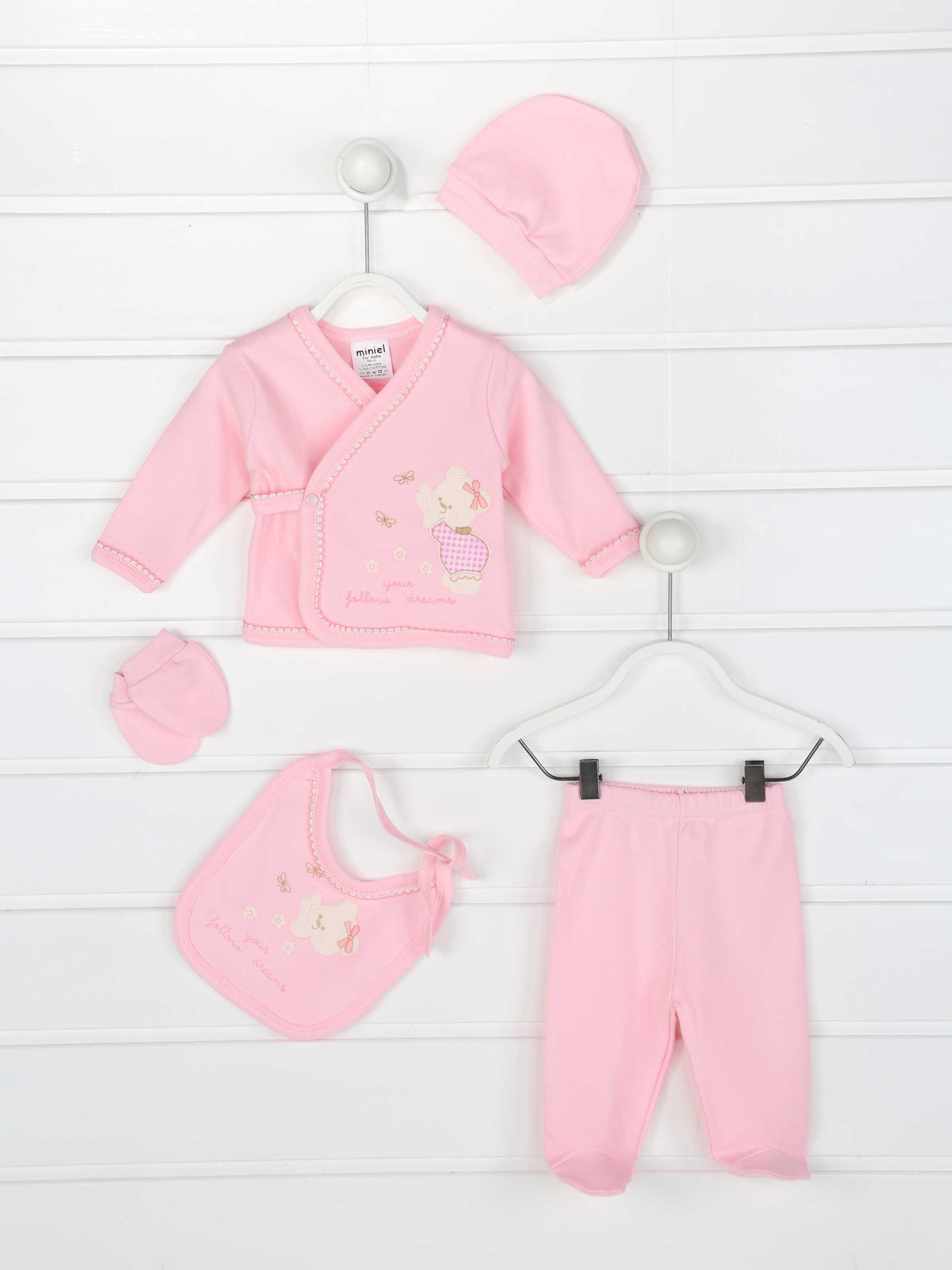 Baby Suits Girls Boys Newborn Clothes 5 Pcs Set Casual Cotton Antiallergic Fabric Newborn Babies Clothing Models