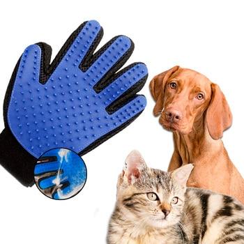 Guante quitapelos para mascotas impermeable quita pelos y limpia perros y gatos...