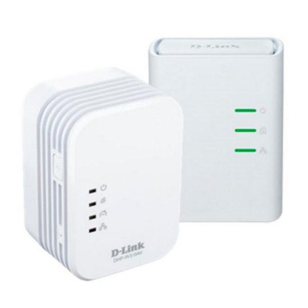 Wi-Fi PLC Adapter D-Link DHP-W311AV 300 Mbps White