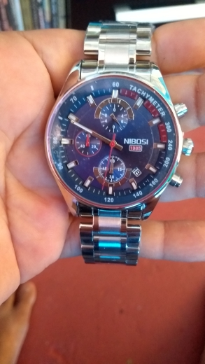 NIBOSI Men Watches Top Luxury Brand Steel Waterproof Sport Quartz Watch Men Fashion Date Clock Watch Relogio Masculino photo review