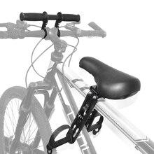 Sedile per bici mtb per bambini montato sul davanti per 2 3 4 5 anni venduto morbido seggiolino per bambini telaio per bicicletta da montagna parti a sella per bambini a sgancio rapido