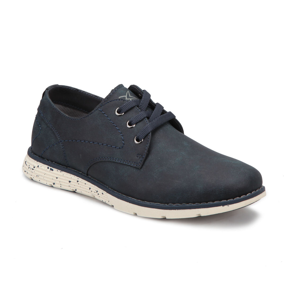 FLO LİZBON Navy Blue Men Casual Shoes KINETIX