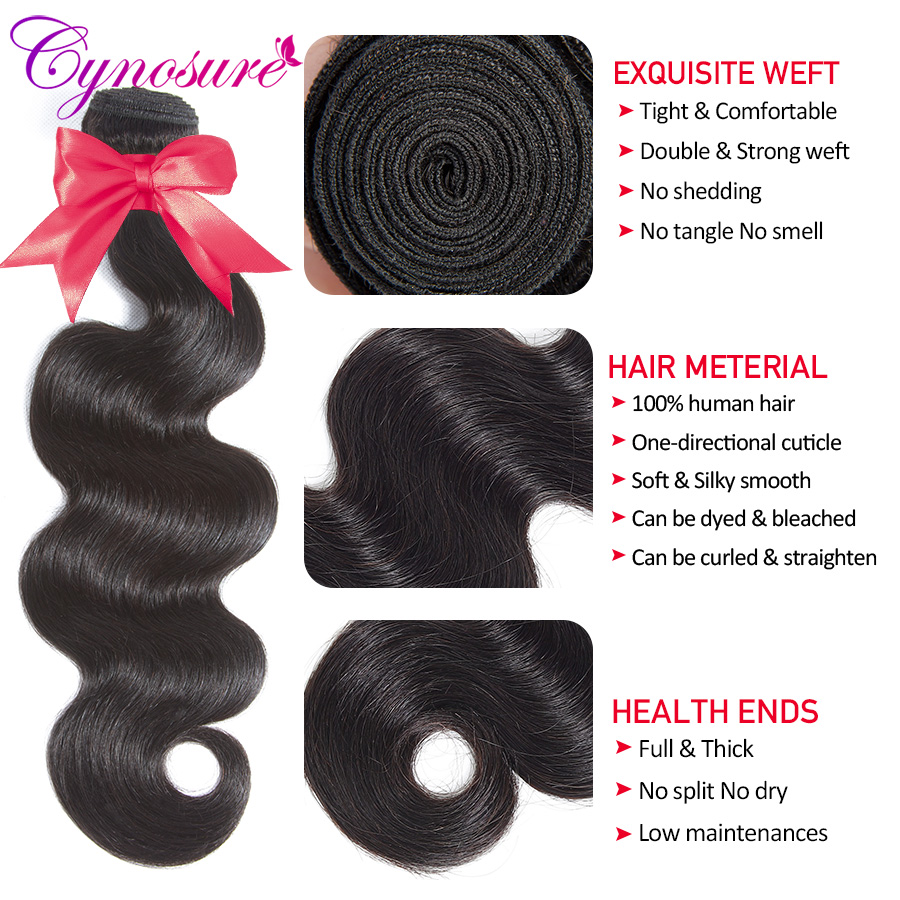U41202680d33a418e88f9c2e8fb50ff26O Cynosure Remy Human Hair 3 Bundles Brazilian Body Wave with Frontal Closure 13x4 Ear To Ear Lace Frontal with Bundles