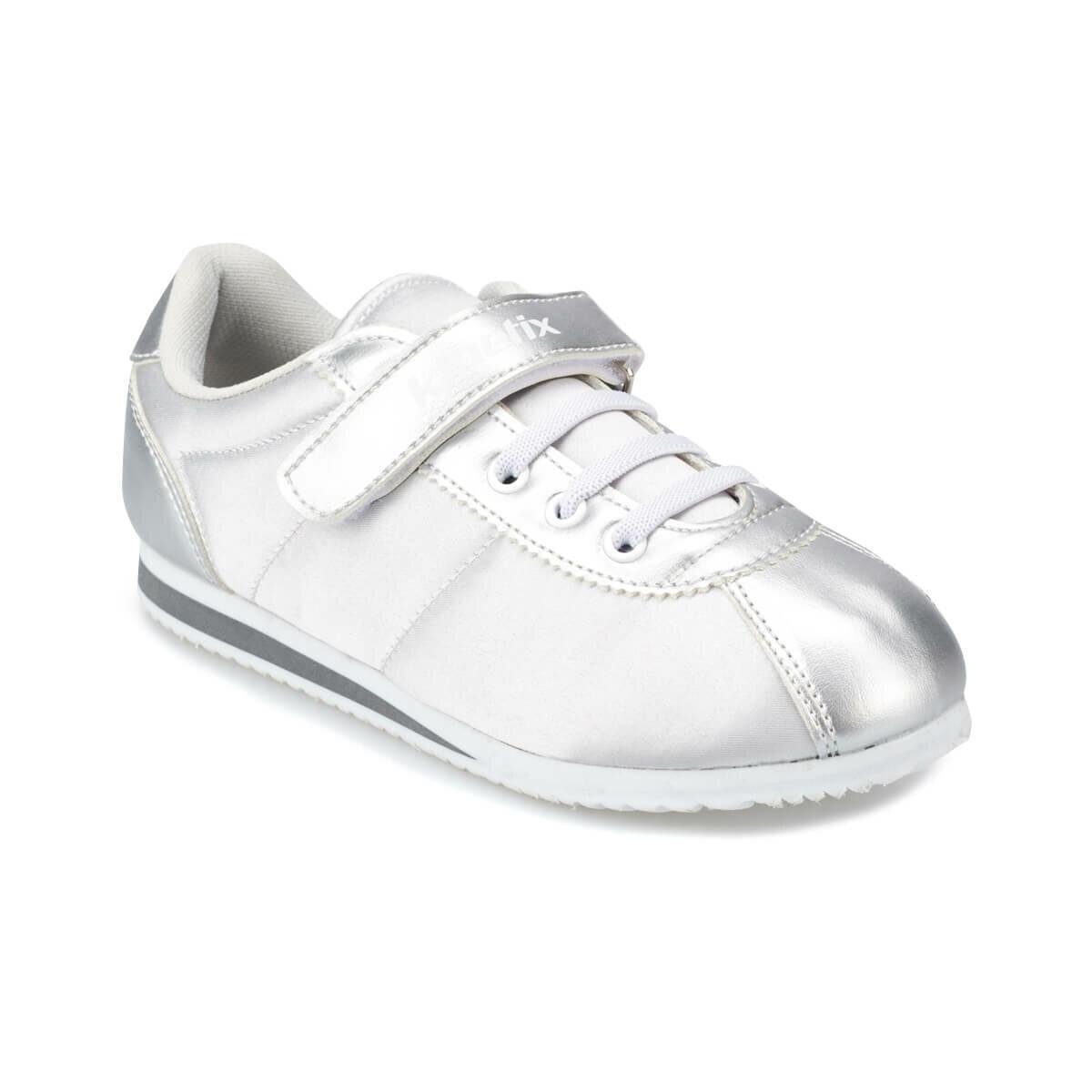 FLO SOPHY J White Male Child Sneaker Shoes KINETIX