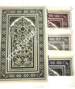 Extra Luxury Velvet Prayer Rug Rug Rugs Muslim  Islamic Gift  سجاد صلاة مسلم هدية إسلامية Sijad Salat Muslim Hadiat 'iislamia