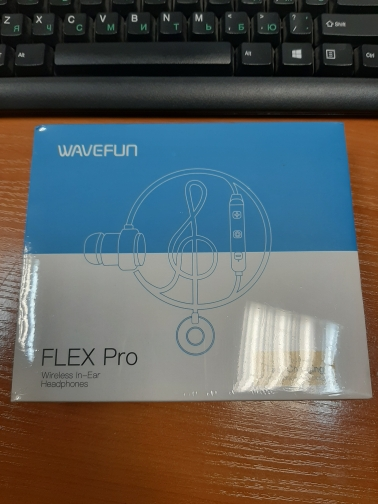Wavefun Flex Pro Quick Charging Bluetooth Earphone Sports Wireless Headphones AAC Stereo Headset for Phone Xiaomi iPhone Android-in Bluetooth Earphones & Headphones from Consumer Electronics on AliExpress