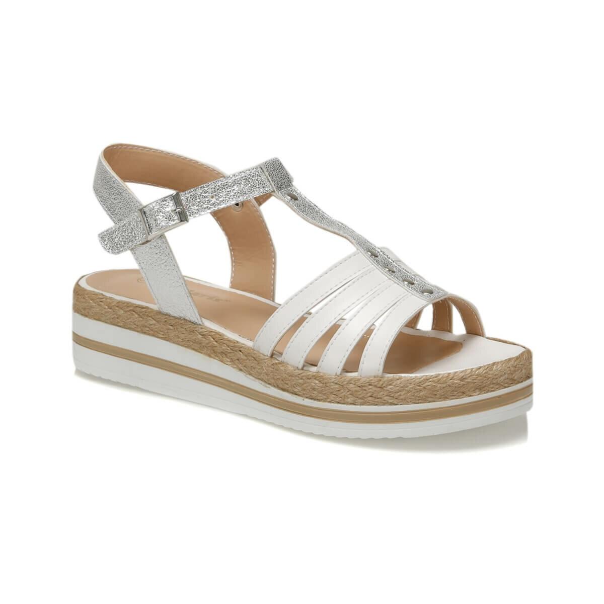 FLO 91. 313550.Z White Women Sandals Polaris
