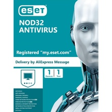 Eset NOD32 Antivirus 2021 - 1 PC - 1 Year - Security Software