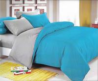 Bedding Set 2x sleeper size: duvet cover  bed sheet and 2 pillow cases. Bought and ready! 100% cotton satin