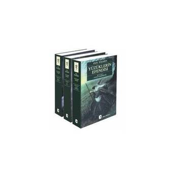 Lord of the Rings Set 3 Books (1-2-3 ALL BOOKS SET), Book, Novel, Turkish Book